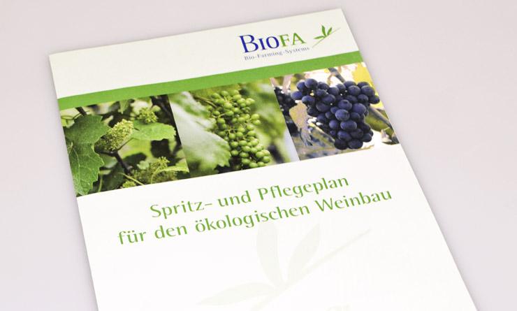 Biofa – Broschüren