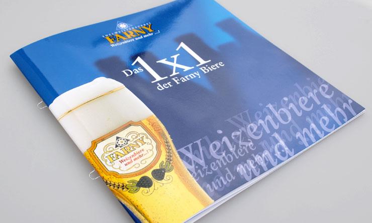 Brauerei Farny – Broschüren