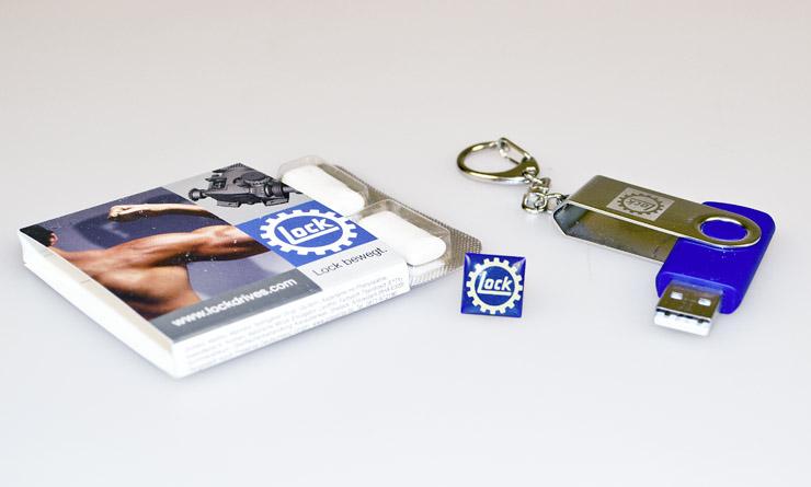 Lock Antriebstechnik – Werbeartikel